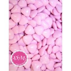 Corazones de chocolate Rosa