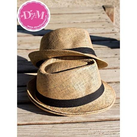 Sombrero Borsalino color caramelo
