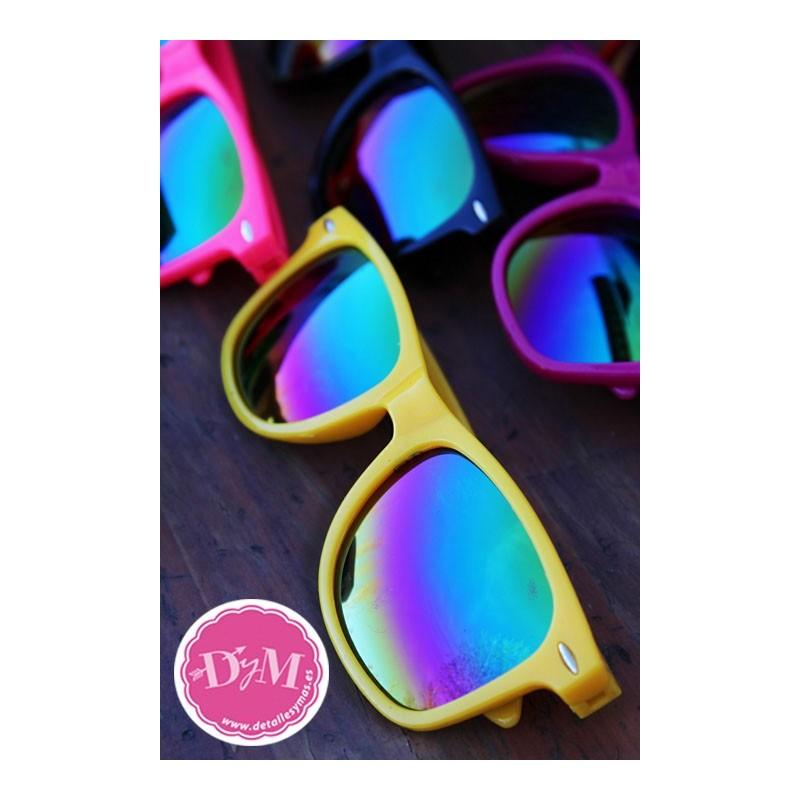 precio bajo baratas para descuento Promoción de ventas Gafas de sol colores .Cristal espejo