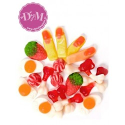 Mix de gominolas brillantes . 1 kg