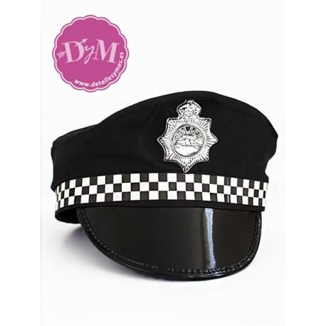 Gorra de policia