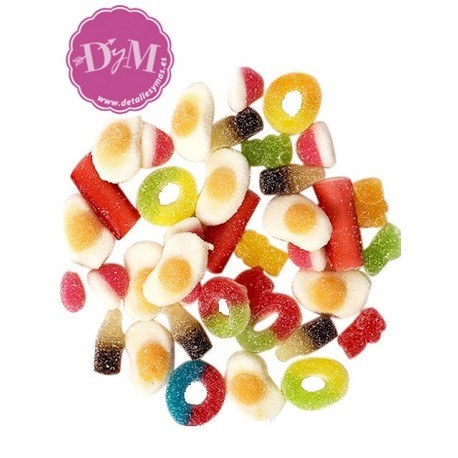 Mini mix de gominolas con azucar
