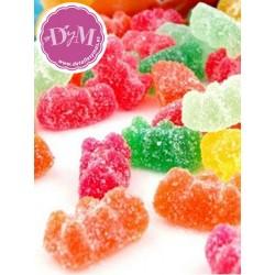Ositos de gominola. Acabado azúcar