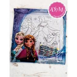 Puzzle para pintar Frozen