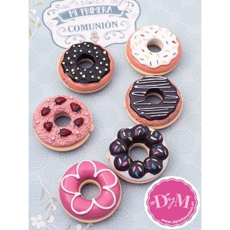 Brillo labial para comunión Donut