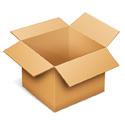 Latita azul corazón bautizo