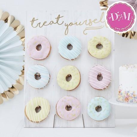 Tabla blanca para Donut