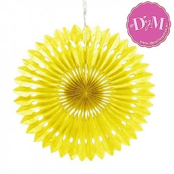 Disco de papel Amarillo 40 cms
