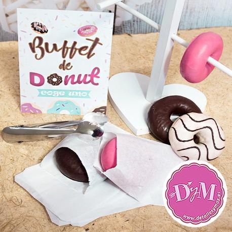 Set para buffet de Donut