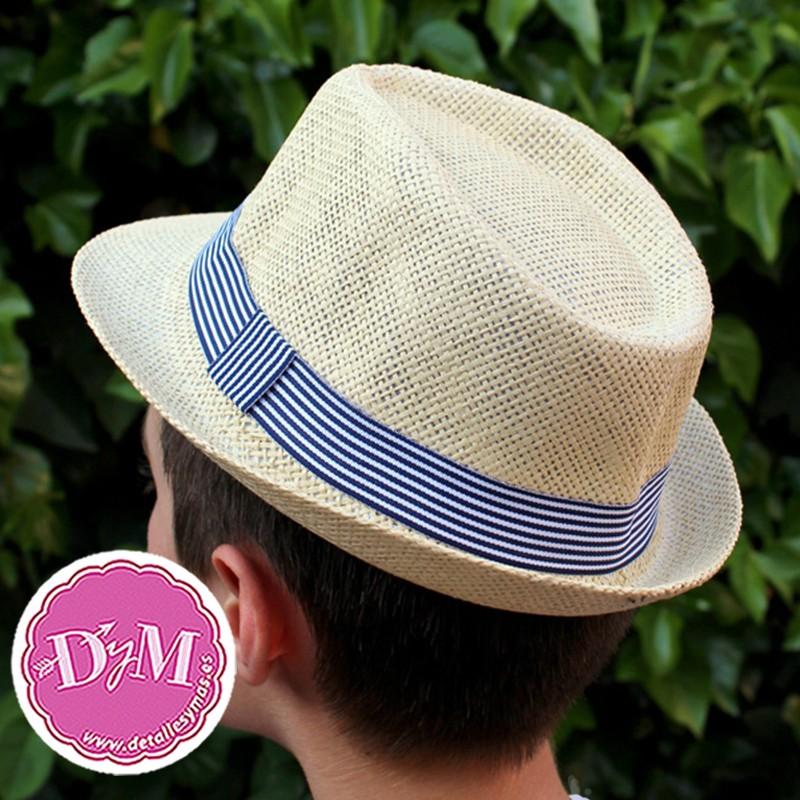 Sombrero borsalino niño Rayas 350a9e674ee