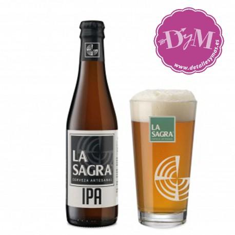 Cerveza LA SAGRA IPA - Indian Pale Ale