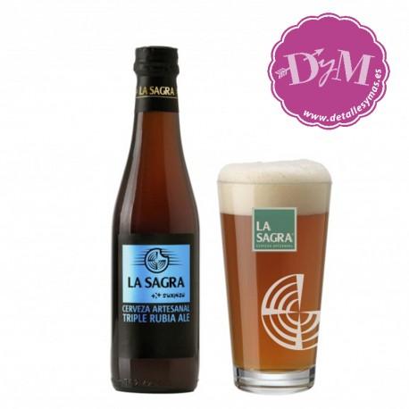 Cerveza LA SAGRA Suxinsu - Rubia Triple Ale