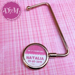 """Cuelga bolsos de comunión personalizado """"Natalia"""""""