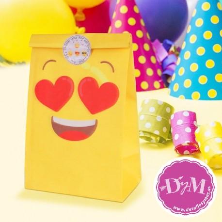 Bolsas de papel Emoticonos