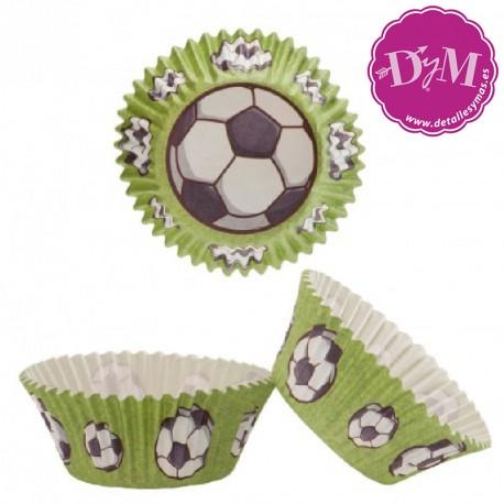 Papeles para cupcakes Futbol