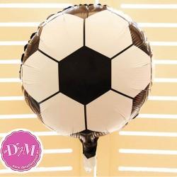 Globo balón de fútbol en Foil