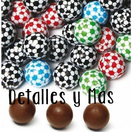 Balones de chocolate. 175 ud