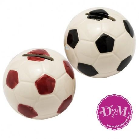 Hucha balón de fútbol
