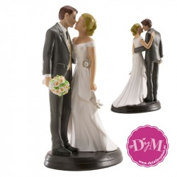 Figura de tarta Boda Romantica