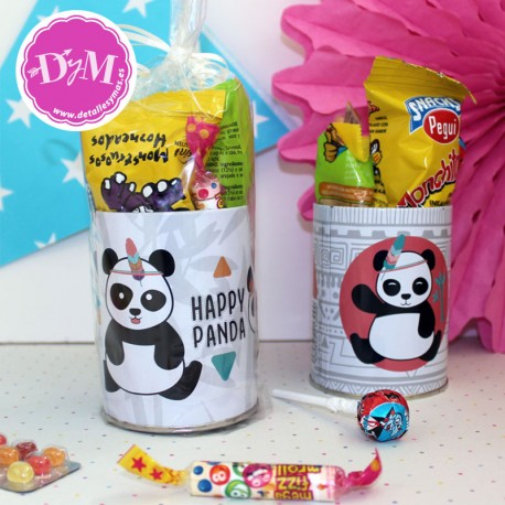 Bote de chuches Panda