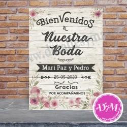 """Cartel Bienvenidos"""""""