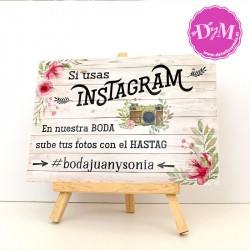 Cartel Instagram Personalizado