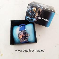 Reloj en caja Batman