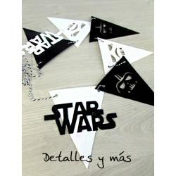 Banderín Feliz Cumpleaños de Starwars