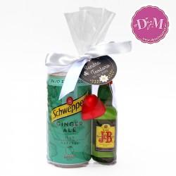 Pack de Whiskey JB + GingerAle para eventos