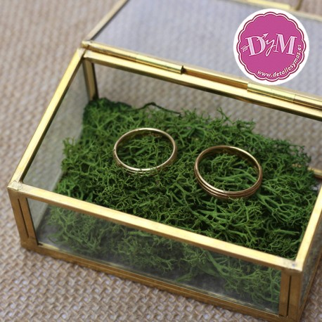 Caja porta anillos cristal