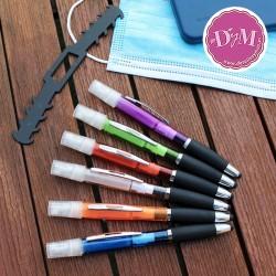 Bolígrafo con pulverizador y puntero