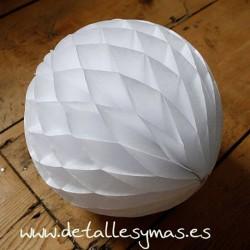 Bolas de papel Nido de abeja 30 cm