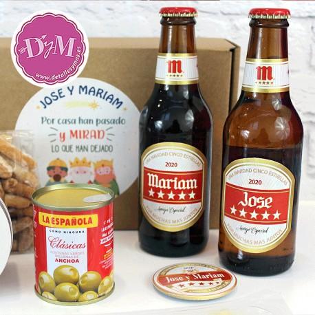 Pack regalo Cerveza Mahou para 2