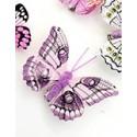 Mariposas de plumas