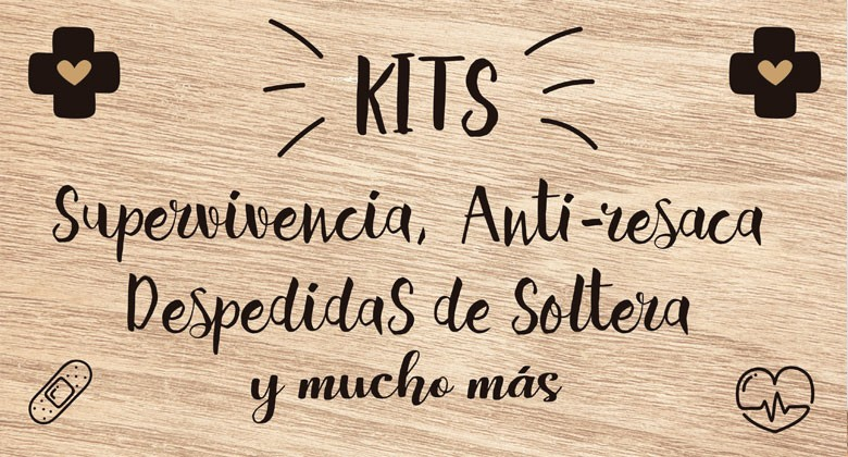 Kit de Supervivencia y anti-resaca | Detalles de Boda